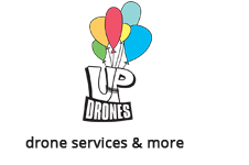 UpDrones.gr Λογότυπο